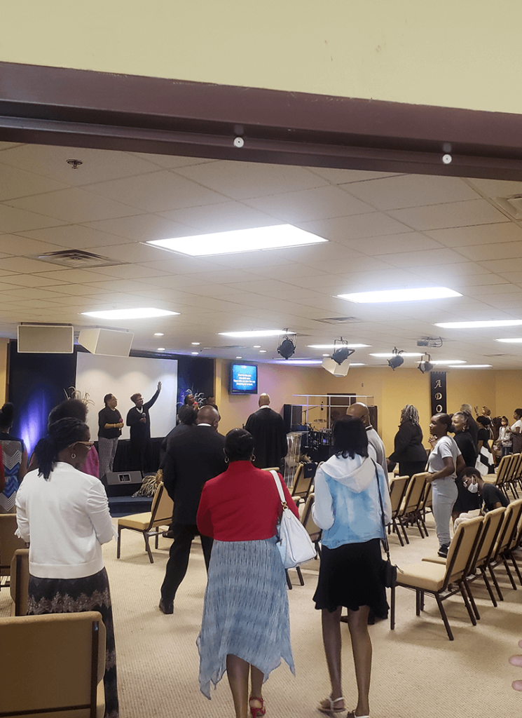 worship at Redeeming Love